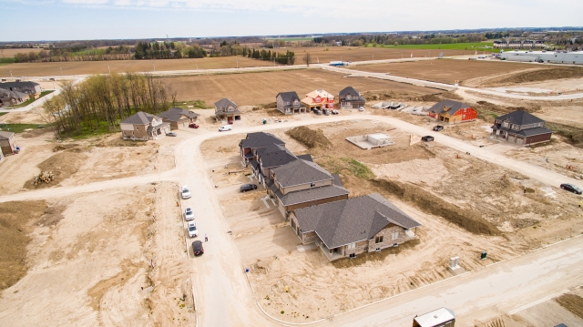 Aerial Photo of Housing Development